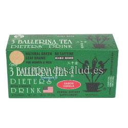 3 Ballerina Tea 18 bolsitas (te de ballerina) para adelgazar