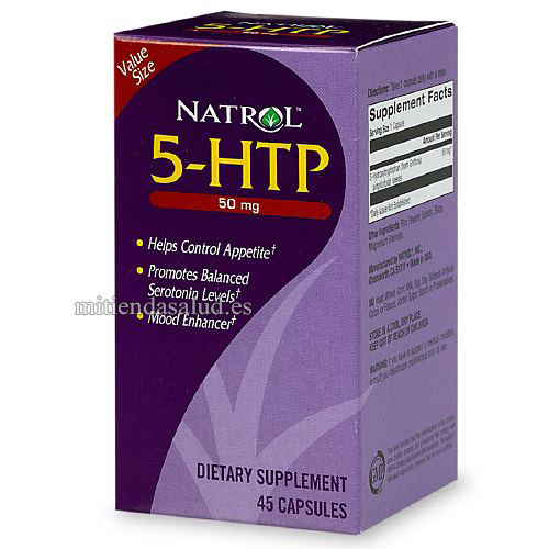 5-HTP 50 mg Natrol 60 capsulas