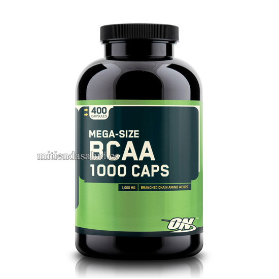 BCAA 1000 Optimum Nutrition 400 capsulas