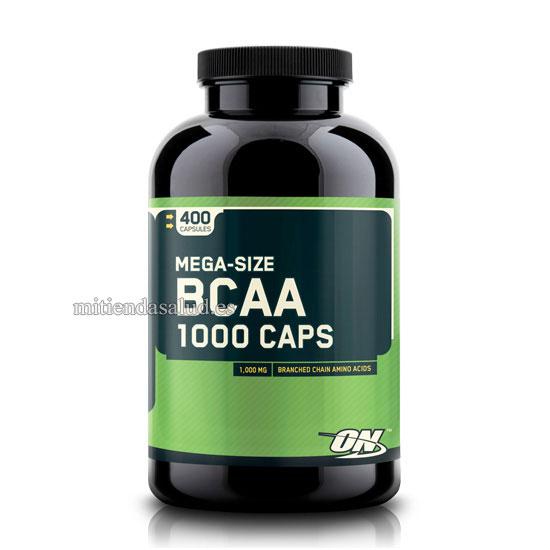 BCAA 1000 Optimum Nutrition 400 capsulas