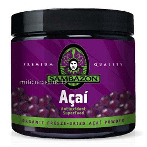Suplemento de Acai Berry en polvo Sambazon 3.17 oz