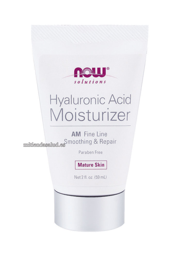 NOW Acido Hialuronico Crema hidratante - AM Fine Line Smoothing & Repair 2 oz