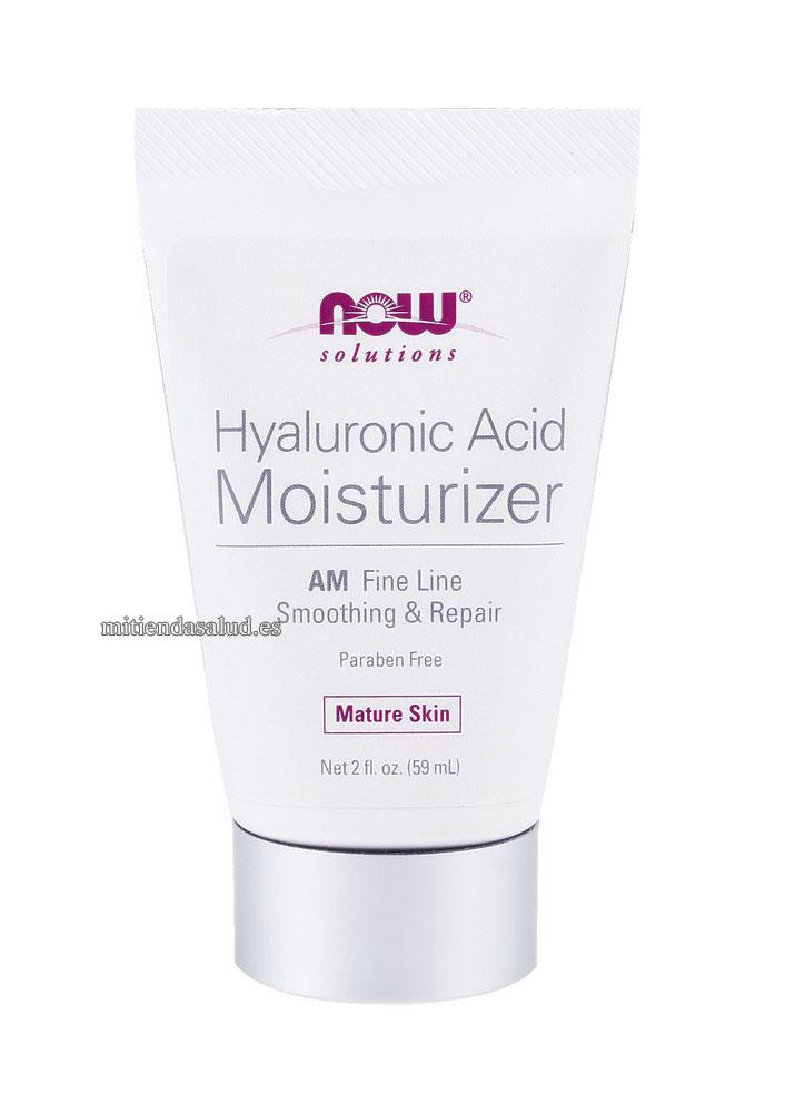 NOW Acido Hialuronico Crema hidratante - AM Fine Line Smoothing & Repair 2 oz
