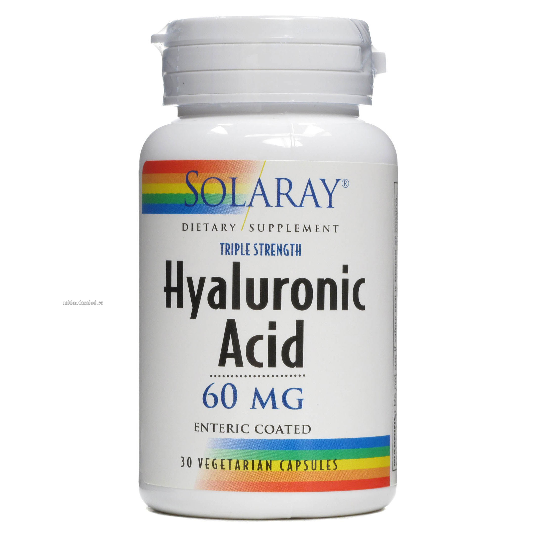 Acido Hialuronico Solaray 30 capsulas
