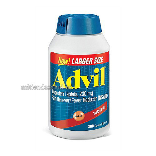 Advil Ibuprofeno 200 mg 300 capsulas recubiertas