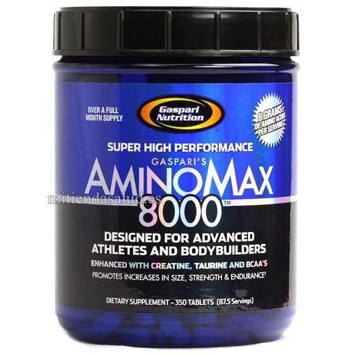 AminoMax 8000 Gaspari Nutrition 350 capsulas