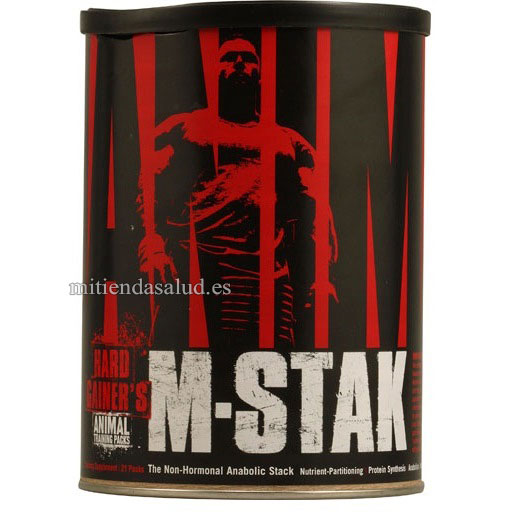 Animal M-stak Universal Nutrition 21 packs