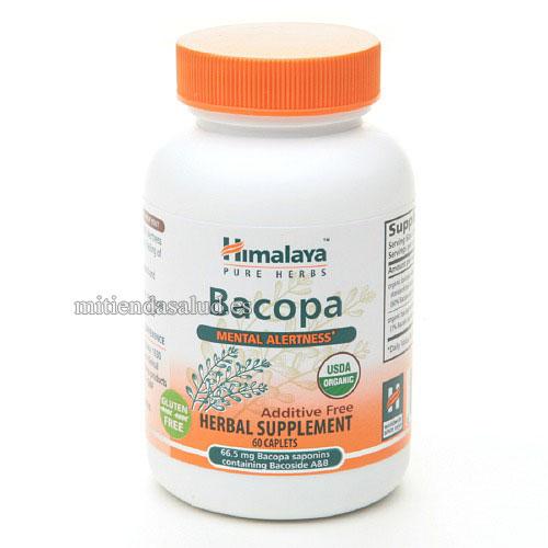 Bacopa Alerta mental Himalaya Herbal Healthcare 60 capsulas