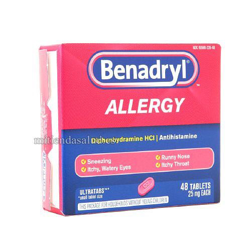 Benadryl Alergia Ultratab 48 capsulas