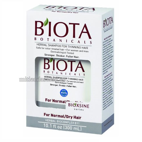 B'IOTA Botanicals Bioxsine Series Herbal Shampoo para cabello Normal/seco