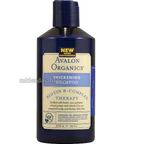 Biotina B-Complex Shampoo Avalon Organics Avalon 14 fl oz