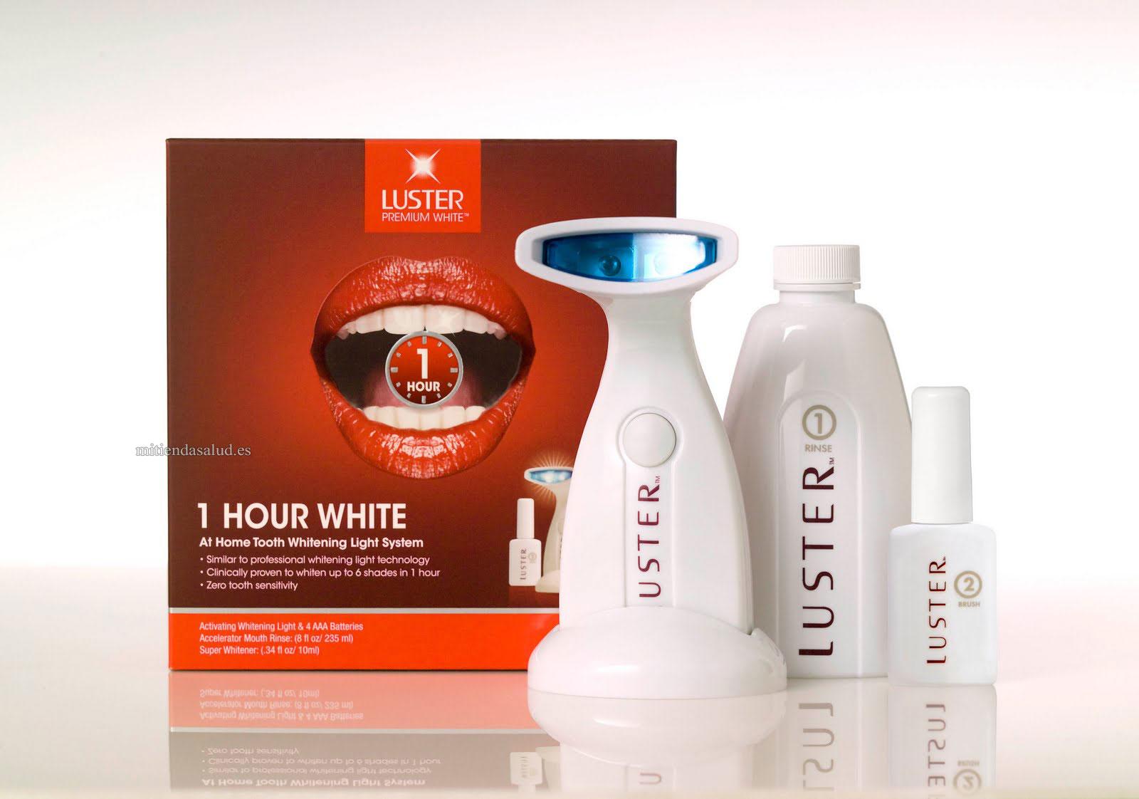 Blanqueamiento Dental casero Luster Premium White 1 hora - en casa