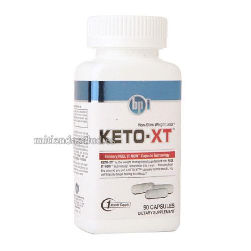 BPI Keto-XT para perder peso 90 capsulas