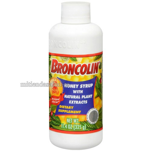 Broncolin Jarabe de Miel Suplemento dietetico 11.4 Oz