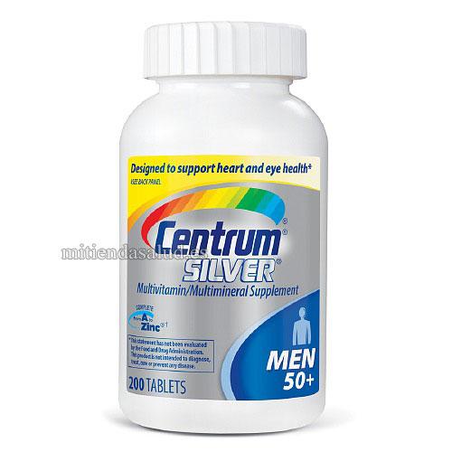 Centrum Silver Hombres 50+ Multivitaminico 200 capsulas