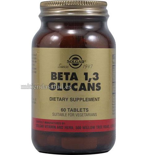 Complejo de Beta Glucanos 60 capsulas Solgar