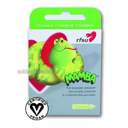 Preservativos Mamba-Ajustadores Fit RFSU 3 condones