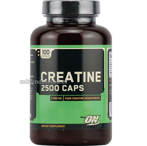 Creatina 2500 Optimum Nutrition 100 capsulas