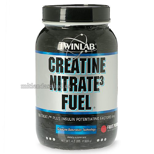 Fuel Creatine Nitrate3 Fuel Twinlab  Powder Fruit Punch en polvo 4.2 lb