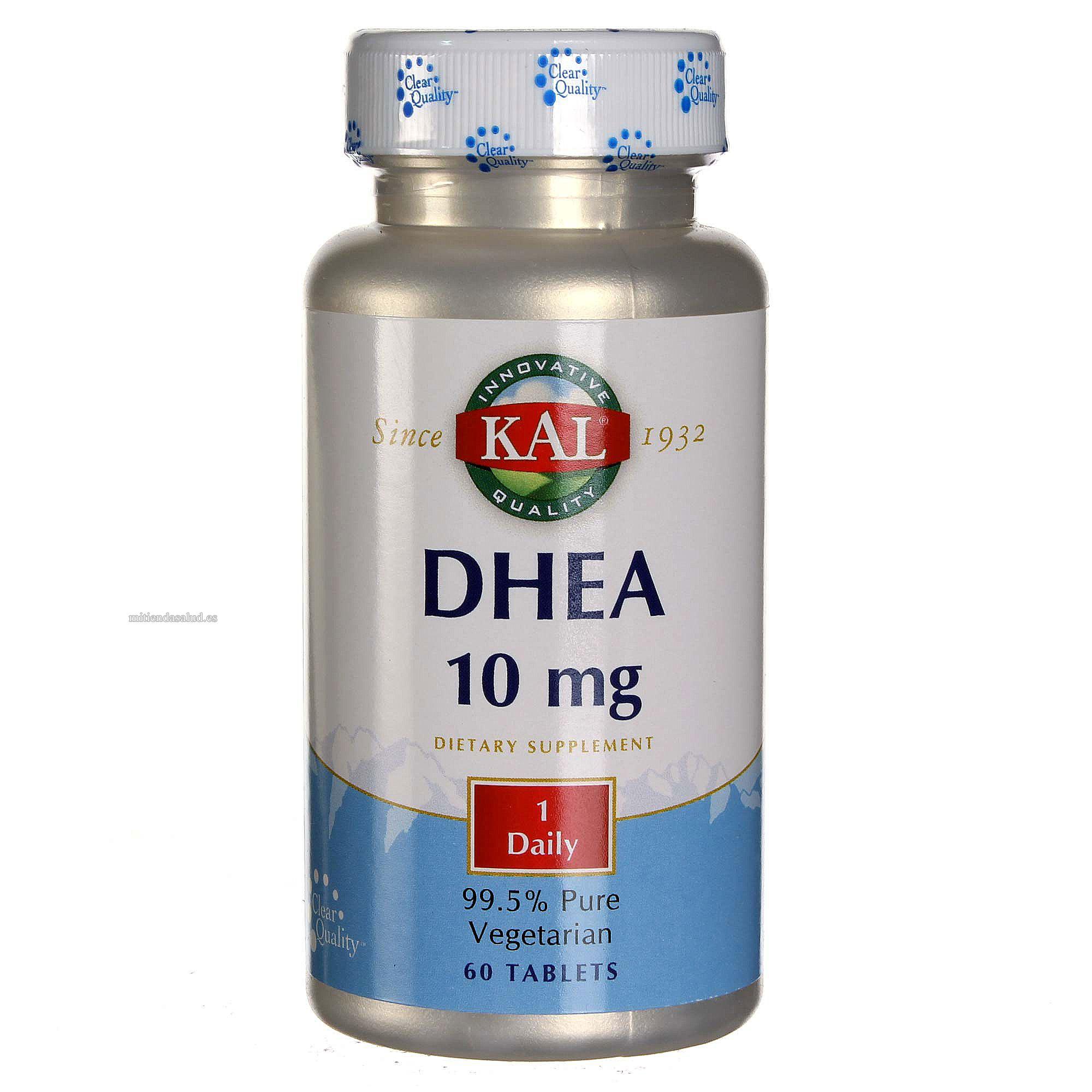 DHEA 10 mg Kal 60 tabletas