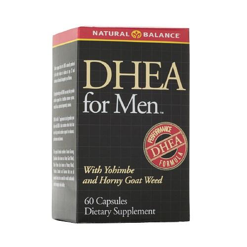 DHEA para hombres Natural Balance 60 capsulas