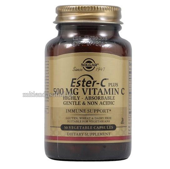 Ester C Plus Vitamina C 500 mg Solgar 50 capsulas