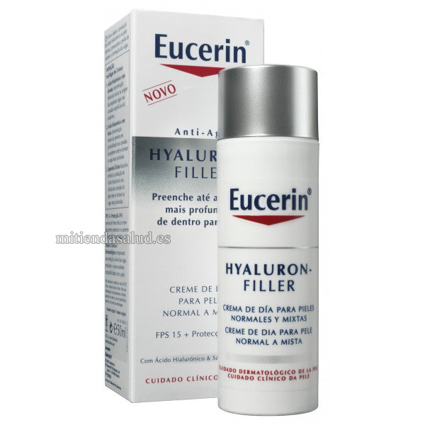 Eucerin Hyaluron Filler Day Cream con acido hialuronico 50 ml