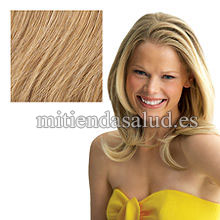"Extensiones de pelo Clip 16"" Hairdo Chestnut 2 pc"