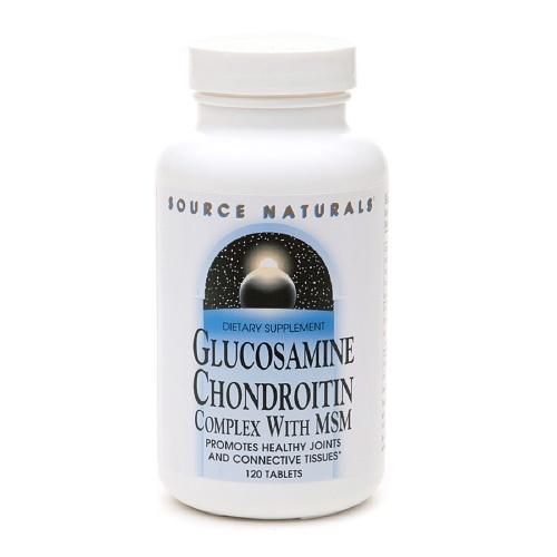 Glucosamina Condroitina Complex  Source Naturals con MSM 120 capsulas