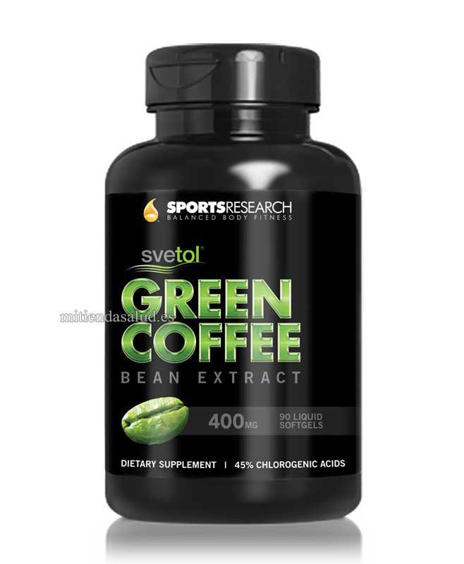 Grano de café verde con svetol 60 capsulas