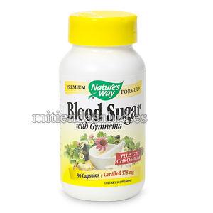Blood Sugar con Gymnema Nature's Way 90 capsulas