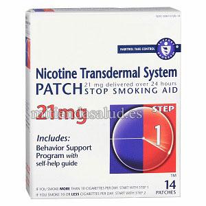 Habitrol Nicotine Transdermal System Step 1 (Dejar de Fumar) 21 mg 14 parches