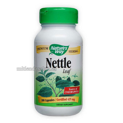 Nettle Leaf Nature's Way (Hoja de Ortiga) 100 capsulas