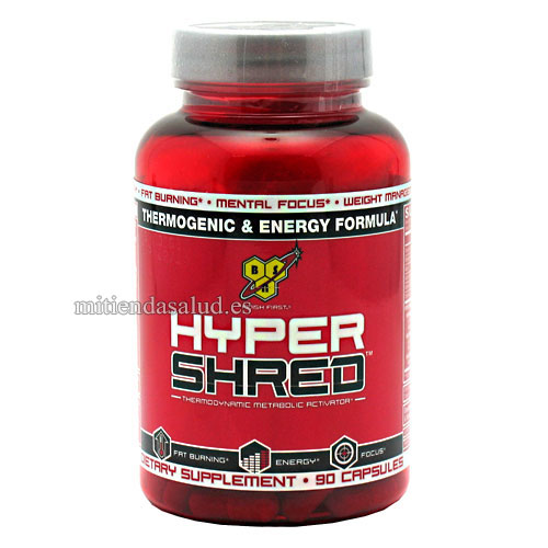 Hyper Shred BSN 90 capsulas