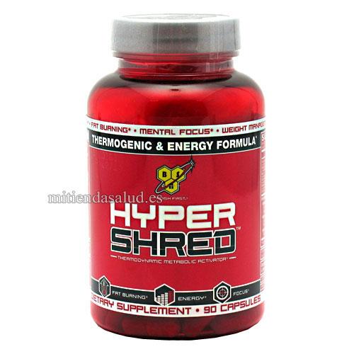 Hyper Shred BSN 90 capsulas