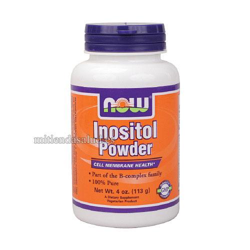 Inositol Powder NOW Foods 4 oz