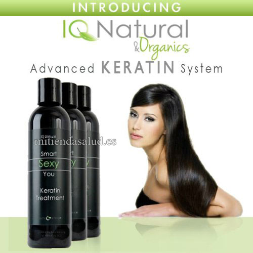 IQ Natural 3PC Brasilena Keratina
