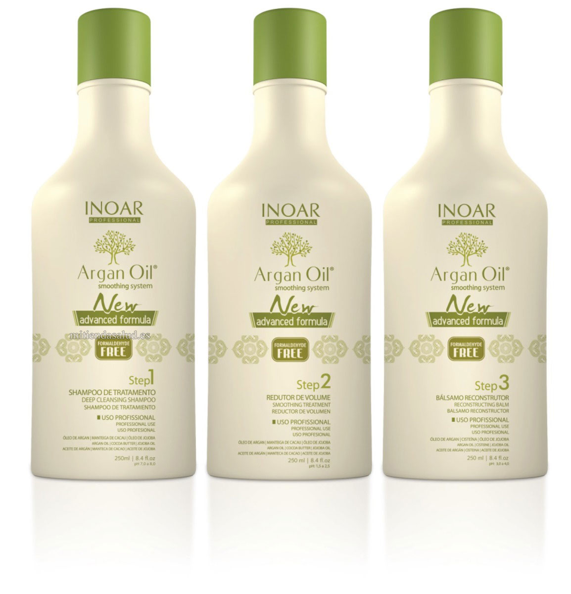 Kit Inoar Aceite de Argan 750 ml