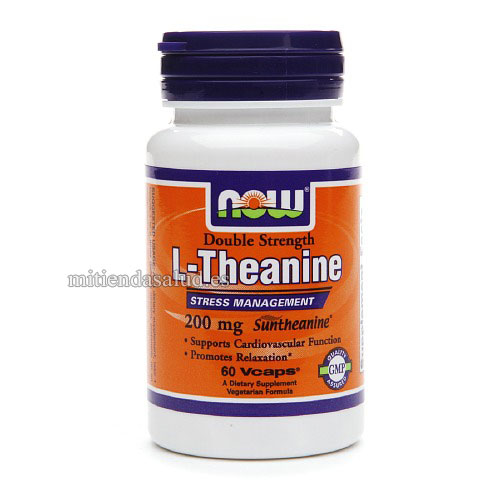 L-Teanina con Inositol  200mg  NOW Foods 60 capsulas