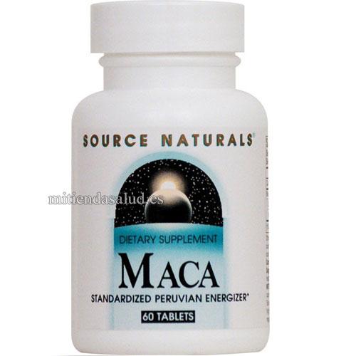 Maca peruana Source Naturals 60 capsulas
