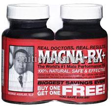 Magna Rx para el rendimiento masculino 120 capsulas