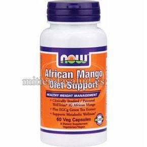 Mango Africano Diet Support Now Foods 60 capsulas