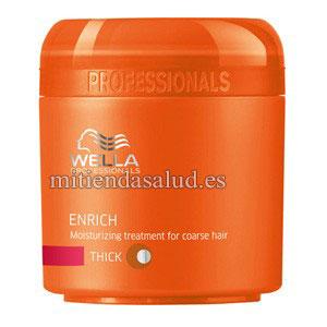 Mascarilla para cabello maltratado WELLA Enrich Moisturizing Tratamiento 5.07oz (150 ml)