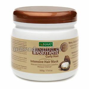 Mascarilla de Keratina Nunaat Naat Tratamiento Intensivo para cabellos rizados 17.6 Ounce (500 g)