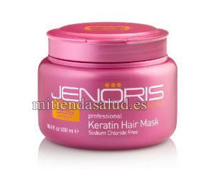 Mascarilla con Keratina para el pelo Jenoris Professional 500 ml