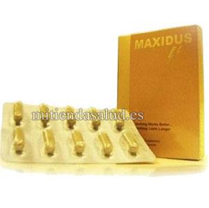 Maxidus Potenciador sexual 10 capsulas
