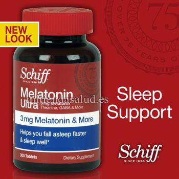 Melatonina Ultra 3 mg Schiff 300 comprimidos