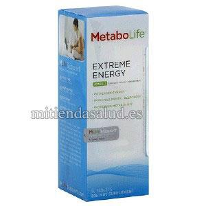 Metabolife Extreme Energy (Energia Extrema) Etapa 2 con 50 Tabletas