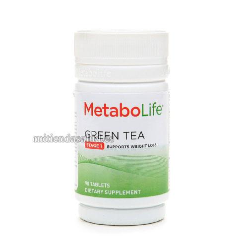 MetabolifeTe Verde Sin Efedrina 90 capsulas
