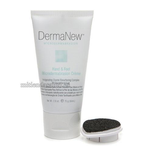 Microdermabrasion manos y pies Crema DermaNew 2.6 oz